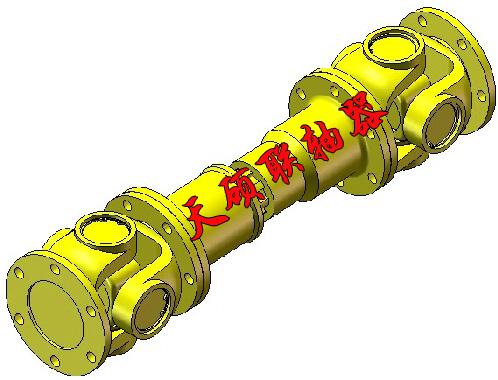 SWC大规格BF型整体叉头十字轴式联轴器