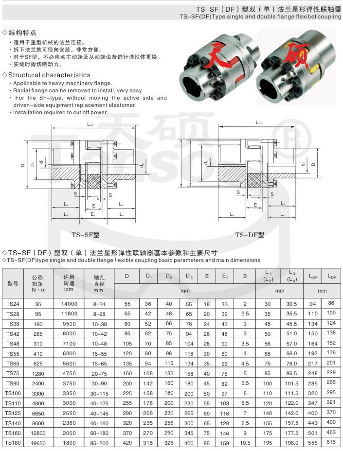 弹性联轴器,星形弹性联轴器,XL型星形弹性联轴器