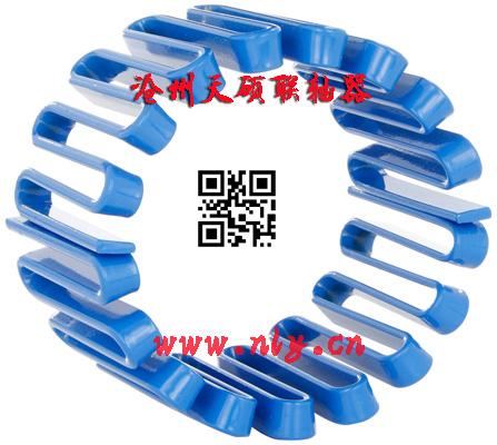 JS系列蛇形弹簧联轴器外形及安装尺寸