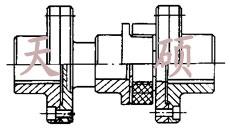 星形弹性联轴器