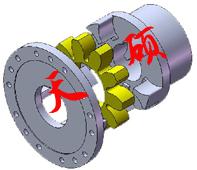 星型弹性联轴器